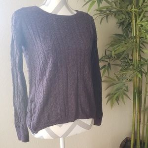 American Eagle Outfitters Sweaters - Purple Sweater with Zippers